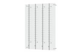 Akrylový panel se 4 tyčemi ZK16 mléčný